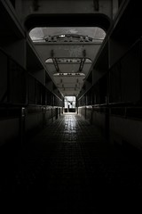 Dark and abandoned place