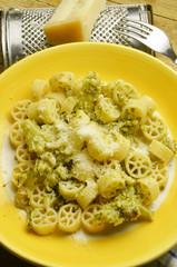 Ruote con broccoli Cucina italia Italian recipe Expo 2015 Milano
