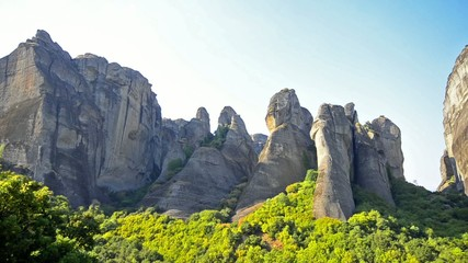 Cliffs of Meteora, Greece
