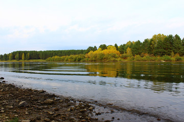 Набережная реки Кан