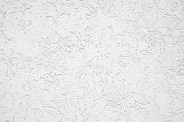 White Plastered wall.