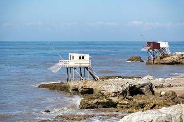 Carrelet, Côte atlantique, France