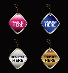 Register here sign tag
