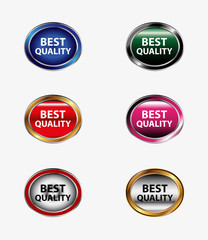 Set of best quality button
