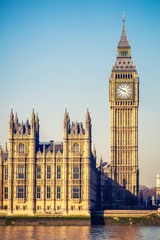 Big Ben tower in London
