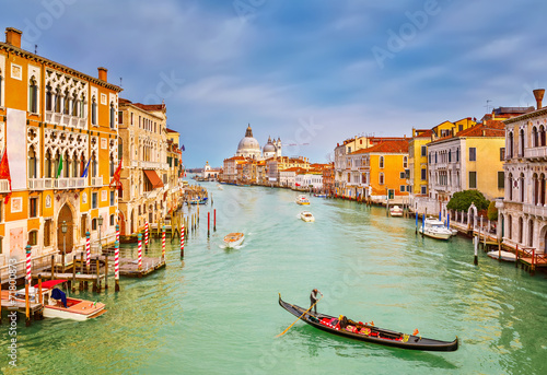 Gondola on Grand Canal Poster