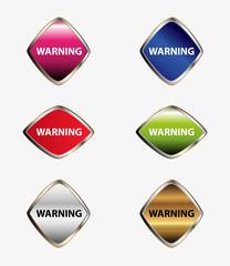 Warning button set