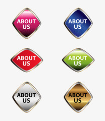 Web icon set About us