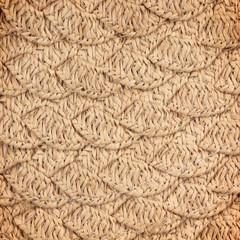 woven straw wicker background texture