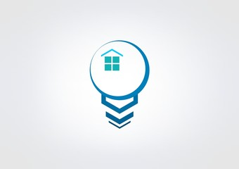 Abstract Busines logo idea house icon symbol. apps