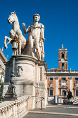 Campidoglio Square, Rome, Italy