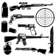 gun and weapons - 71801613