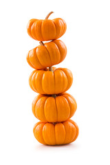Stack of pumpkins
