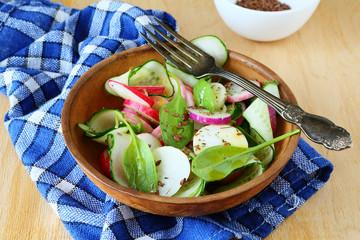 salad of spring vegetables
