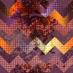Grunge violet chevron