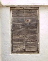 Greece, Tinos island, vintage house door