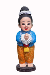 puppet Thai women