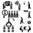 office business people set, human resource concept