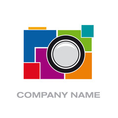 Vector logo digital photographer