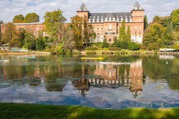 The river and the castle, Turin