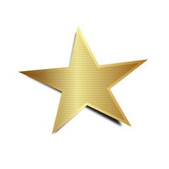 stern gold symbol single