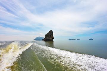 Boat trip in the gulf