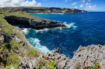Trace des Falaises in Guadeloupe