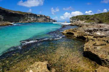 Lagon de la Porte d'Enfer in Guadeloupe