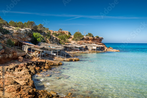 Papiers peints Plage Formentera island