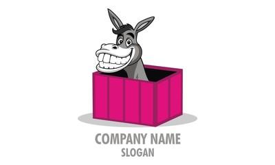 Pink Donkey Logo