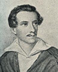 Juliusz Słowacki (engraving by James Hopwood)