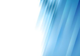 Conceptual blue stripes vector background