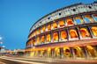 Fototapeta Roma - Noc - Starożytna Budowla