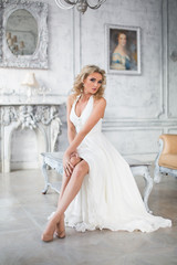 Bride wedding portrait woman