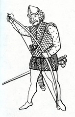 English longbow archer