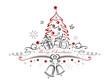 Zdjęcia na płótnie, fototapety, obrazy : Weihnachtsbaum, Weihnachten, Glocken