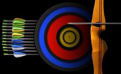 Sports Bow - Arrows and Target
