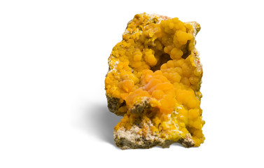 Botryoidal Mimetite from Chah Mileh, Esfahan, Iran. 7cm high