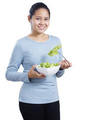 Vegetarian Lady