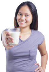 Lady With Milk