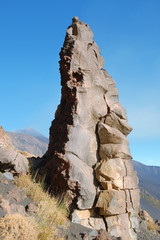 Rock Formation In Etna National Park, Sicily