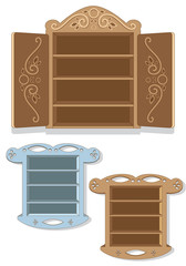 Set of Wall Cabinets