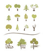 Collection icons -- trees