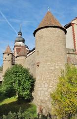 Festung Marienberg Würzburg, Mauer und Türme
