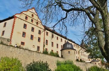 Festung Marienberg Würzburg, Hausfassade