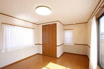 洋室イメージ シンプル家具なし ウォークインクローゼットあり