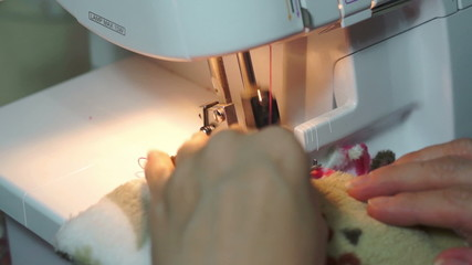 Sewing With a Serger Machine