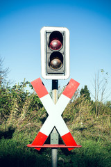 Andrew's Cross with traffic lights