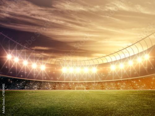Papiers peints Stade de football light of stadium
