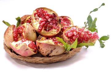 Pomegranate antioxidant fruit